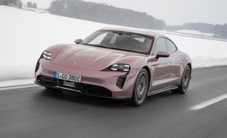2021 Porsche Taycan (Color: Frozen Berry Metallic) Front Wallpapers 450x275 (153)