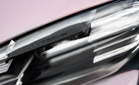 2021 Porsche Taycan (Color: Frozen Berry Metallic) Headlight Wallpapers 450x275 (182)