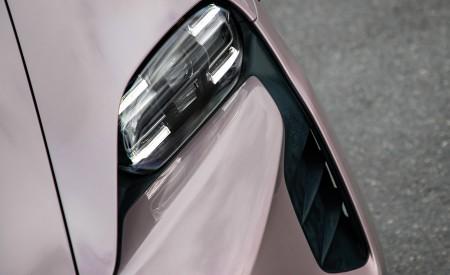 2021 Porsche Taycan (Color: Frozen Berry Metallic) Headlight Wallpapers 450x275 (181)