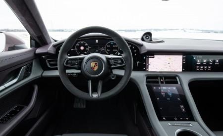 2021 Porsche Taycan (Color: Frozen Berry Metallic) Interior Cockpit Wallpapers 450x275 (196)