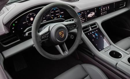 2021 Porsche Taycan (Color: Frozen Berry Metallic) Interior Cockpit Wallpapers  450x275 (195)
