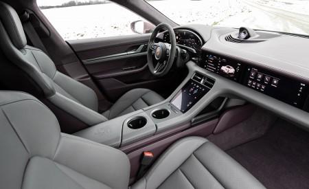 2021 Porsche Taycan (Color: Frozen Berry Metallic) Interior Front Seats Wallpapers 450x275 (202)