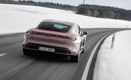 2021 Porsche Taycan (Color: Frozen Berry Metallic) Rear Wallpapers 450x275 (144)