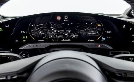 2021 Porsche Taycan (Color: Ice Grey Metallic) Digital Instrument Cluster Wallpapers 450x275 (84)