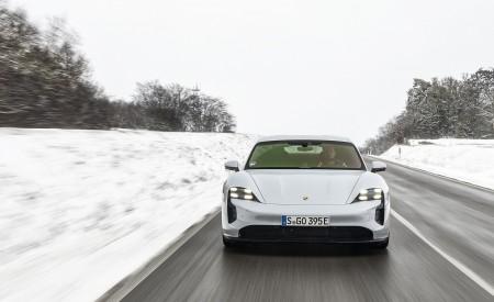 2021 Porsche Taycan (Color: Ice Grey Metallic) Front Wallpapers 450x275 (60)