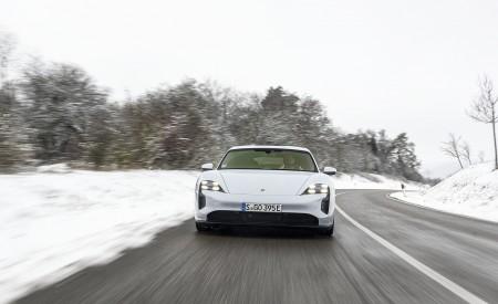2021 Porsche Taycan (Color: Ice Grey Metallic) Front Wallpapers  450x275 (63)