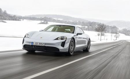 2021 Porsche Taycan (Color: Ice Grey Metallic) Front Wallpapers  450x275 (65)