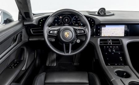 2021 Porsche Taycan (Color: Ice Grey Metallic) Interior Cockpit Wallpapers 450x275 (89)