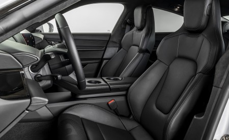 2021 Porsche Taycan (Color: Ice Grey Metallic) Interior Front Seats Wallpapers 450x275 (90)