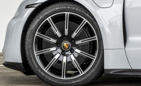2021 Porsche Taycan (Color: Ice Grey Metallic) Wheel Wallpapers 450x275 (78)