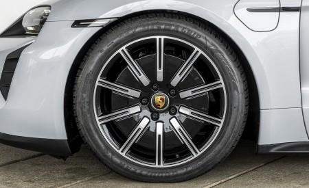 2021 Porsche Taycan (Color: Ice Grey Metallic) Wheel Wallpapers 450x275 (77)