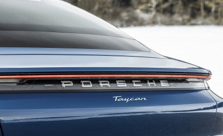2021 Porsche Taycan (Color: Neptune Blue) Badge Wallpapers 450x275 (41)