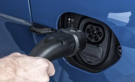 2021 Porsche Taycan (Color: Neptune Blue) Charging Port Wallpapers 450x275 (40)