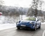 2021 Porsche Taycan (Color: Neptune Blue) Front Wallpapers 150x120 (19)