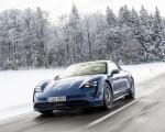2021 Porsche Taycan (Color: Neptune Blue) Front Wallpapers 150x120 (23)