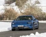 2021 Porsche Taycan (Color: Neptune Blue) Front Wallpapers 150x120 (7)
