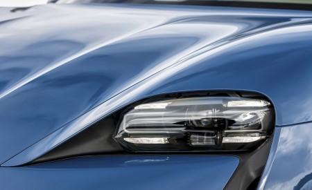 2021 Porsche Taycan (Color: Neptune Blue) Headlight Wallpapers 450x275 (39)