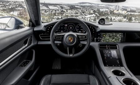 2021 Porsche Taycan (Color: Neptune Blue) Interior Cockpit Wallpapers 450x275 (49)