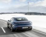 2021 Porsche Taycan (Color: Neptune Blue) Rear Wallpapers 150x120 (26)