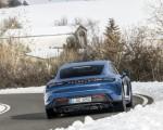 2021 Porsche Taycan (Color: Neptune Blue) Rear Wallpapers 150x120 (8)
