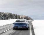 2021 Porsche Taycan (Color: Neptune Blue) Rear Wallpapers 150x120 (27)