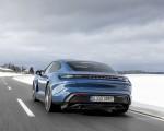 2021 Porsche Taycan (Color: Neptune Blue) Rear Wallpapers 150x120 (28)
