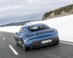 2021 Porsche Taycan (Color: Neptune Blue) Rear Wallpapers 150x120 (29)