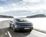 2021 Porsche Taycan (Color: Neptune Blue) Rear Wallpapers 150x120 (30)