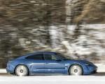 2021 Porsche Taycan (Color: Neptune Blue) Side Wallpapers 150x120 (9)