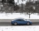 2021 Porsche Taycan (Color: Neptune Blue) Side Wallpapers 150x120 (31)