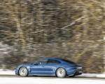 2021 Porsche Taycan (Color: Neptune Blue) Side Wallpapers 150x120 (10)