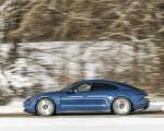 2021 Porsche Taycan (Color: Neptune Blue) Side Wallpapers 150x120 (11)