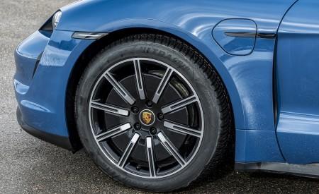 2021 Porsche Taycan (Color: Neptune Blue) Wheel Wallpapers 450x275 (38)