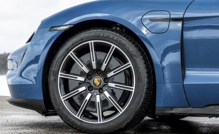 2021 Porsche Taycan (Color: Neptune Blue) Wheel Wallpapers 450x275 (37)