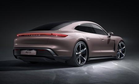 2021 Porsche Taycan Rear Three-Quarter Wallpapers 450x275 (210)