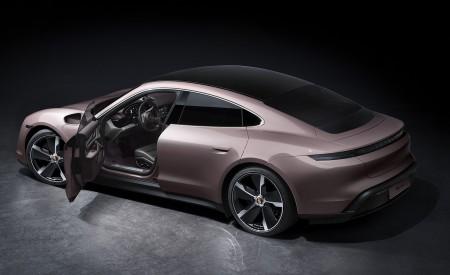2021 Porsche Taycan Rear Three-Quarter Wallpapers 450x275 (211)