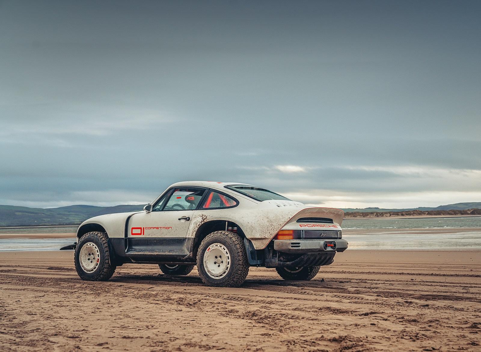 2021 Singer Porsche 911 All-terrain Competition Study Rear Three-Quarter Wallpapers (4)