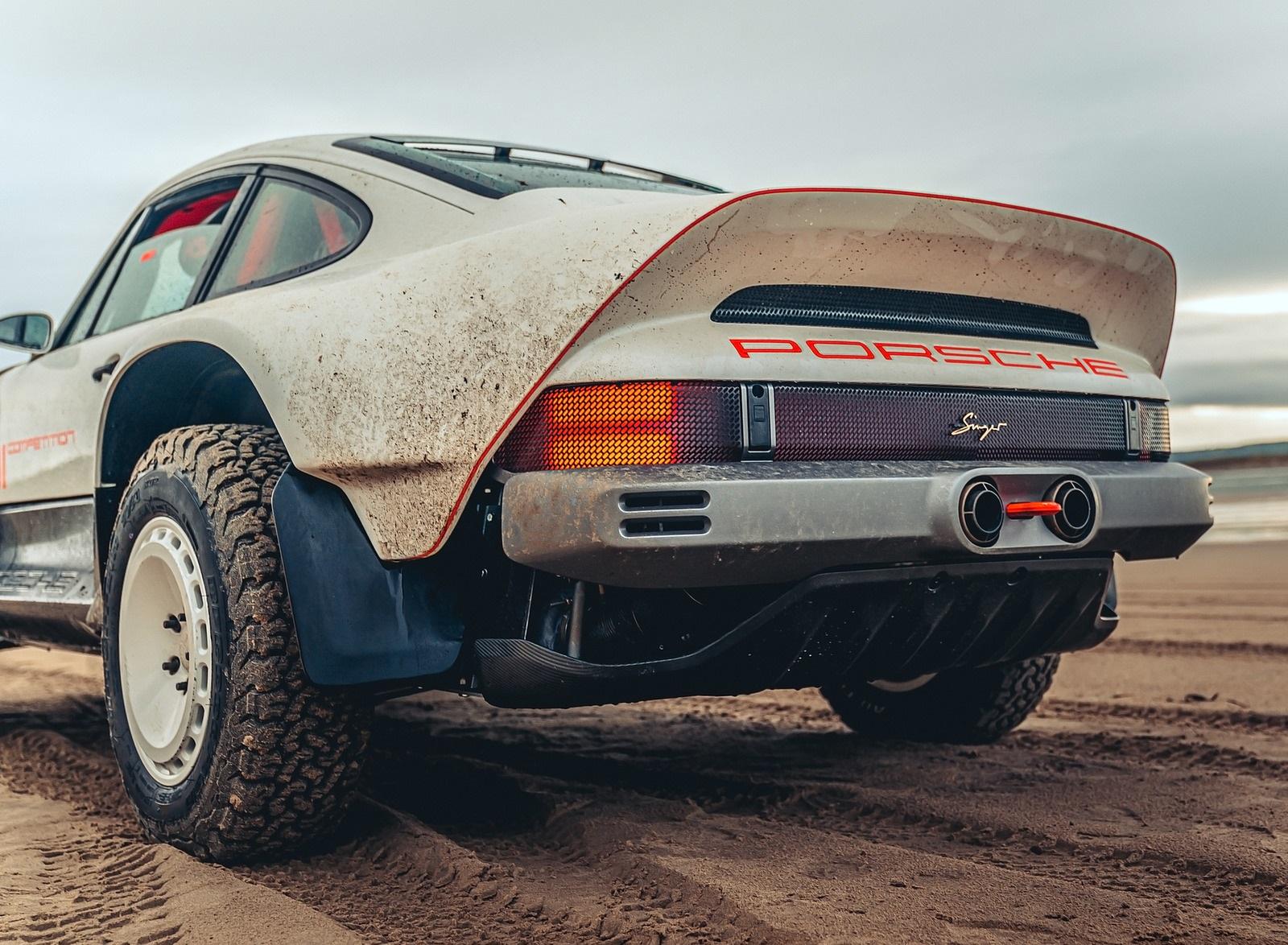 2021 Singer Porsche 911 All-terrain Competition Study Rear Wallpapers (6)