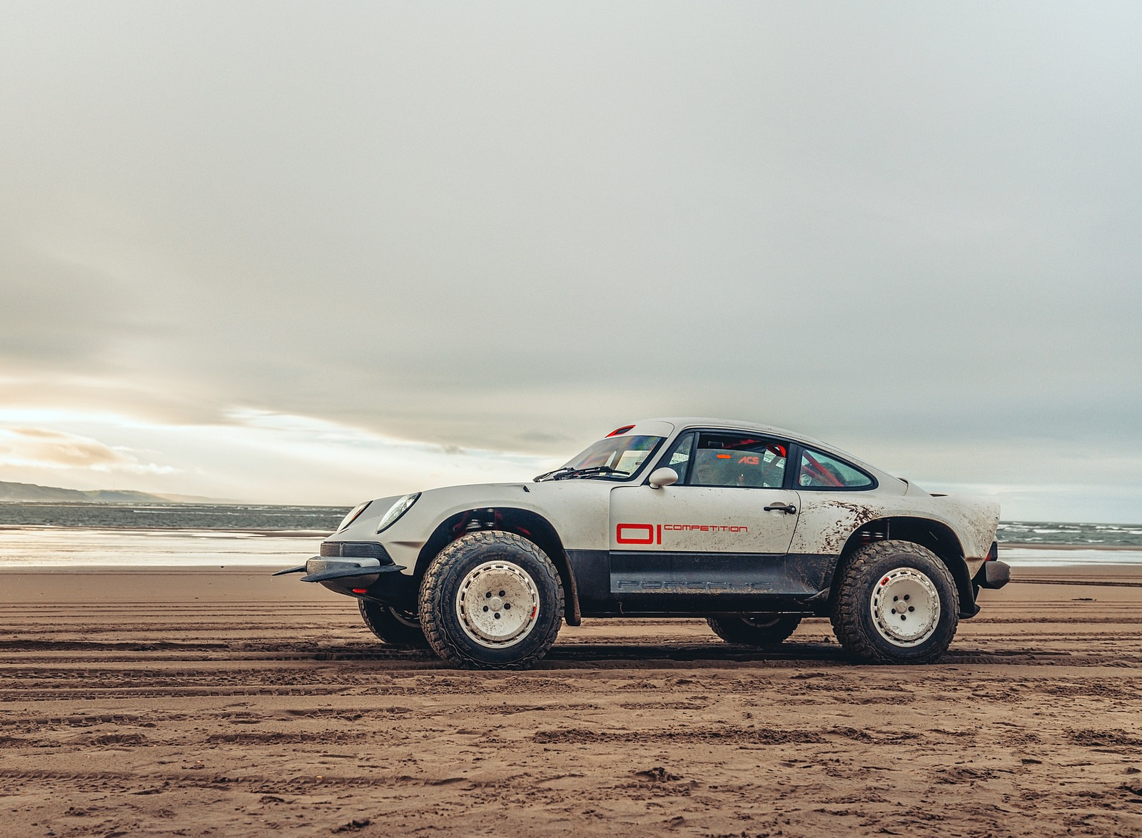 2021 Singer Porsche 911 All-terrain Competition Study Side Wallpapers (5)