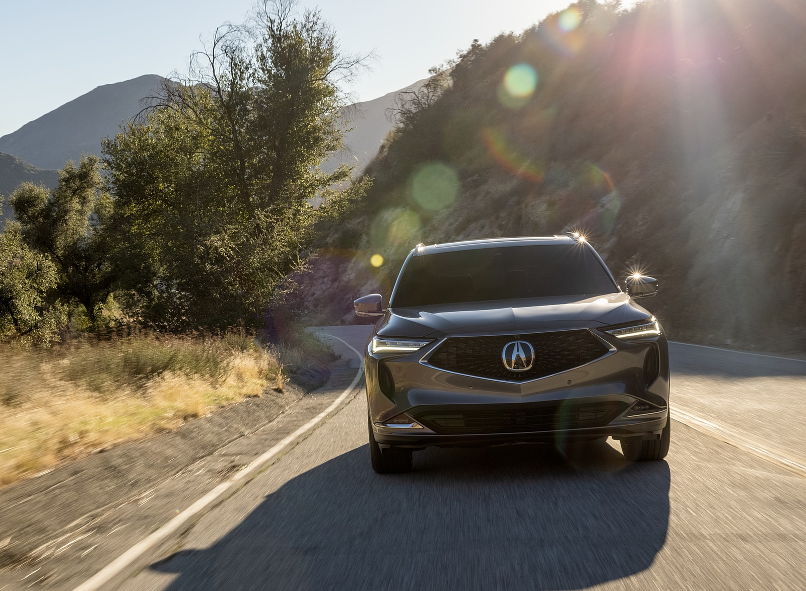 2022 Acura MDX Advance Front Wallpapers  (7)