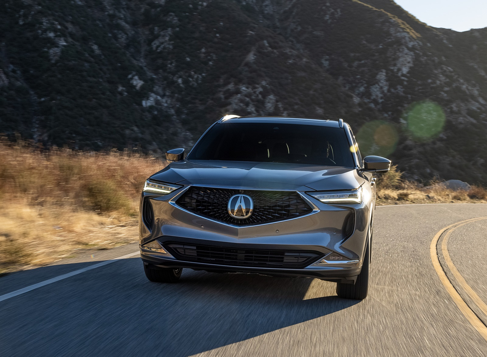 2022 Acura MDX Advance Front Wallpapers (8)