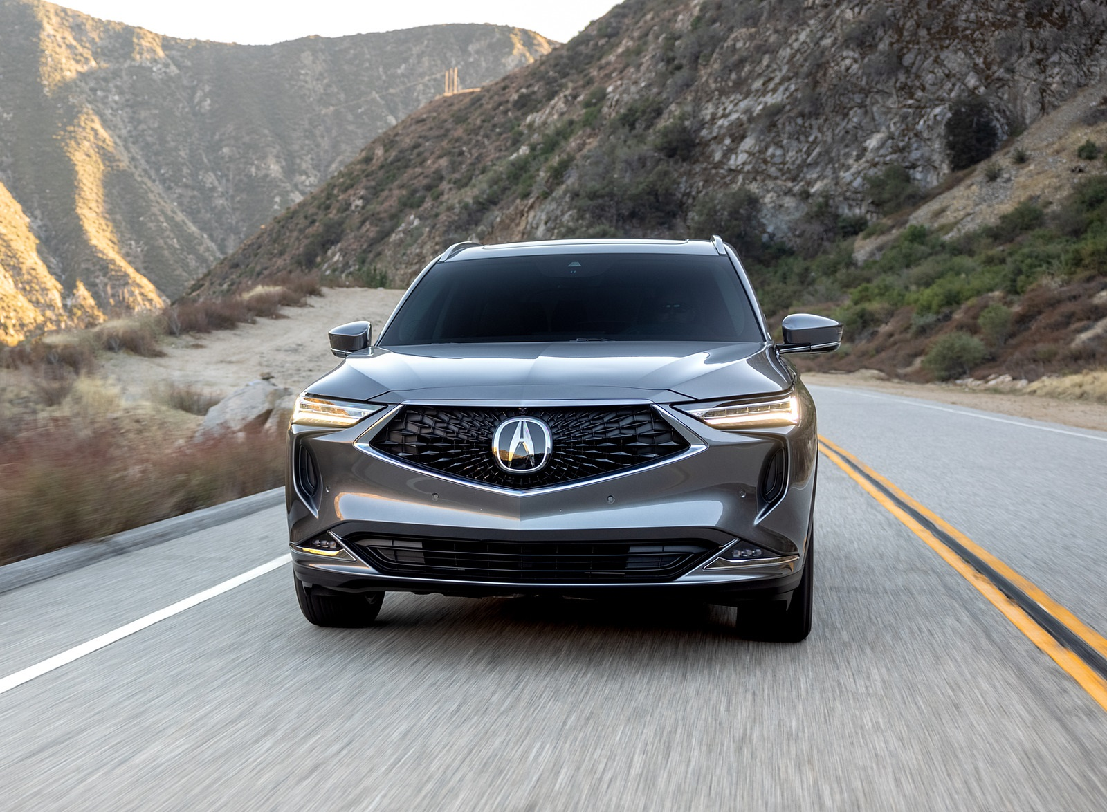 2022 Acura MDX Advance Front Wallpapers (2)