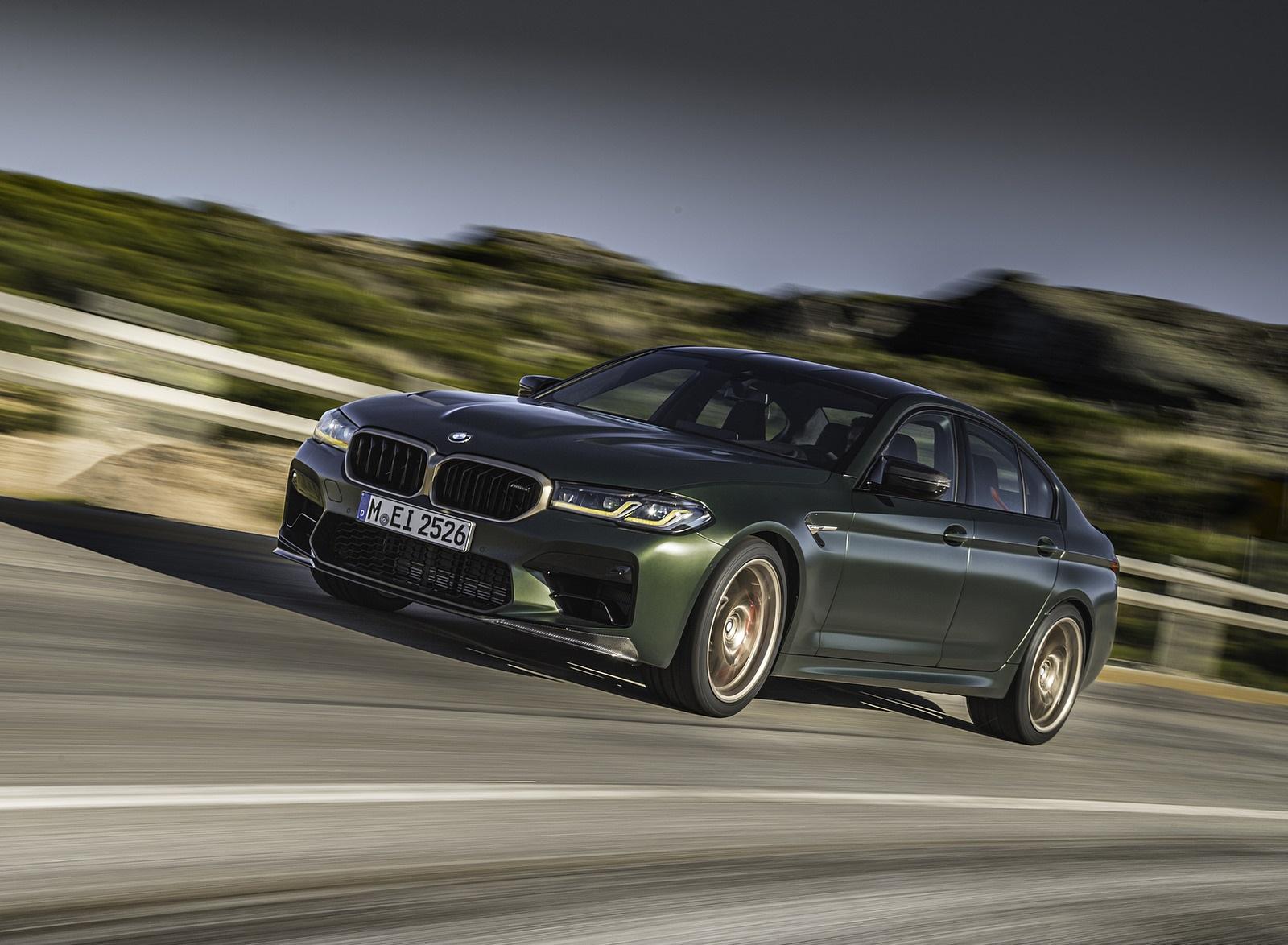 2022 BMW M5 CS Front Three-Quarter Wallpapers  (6)