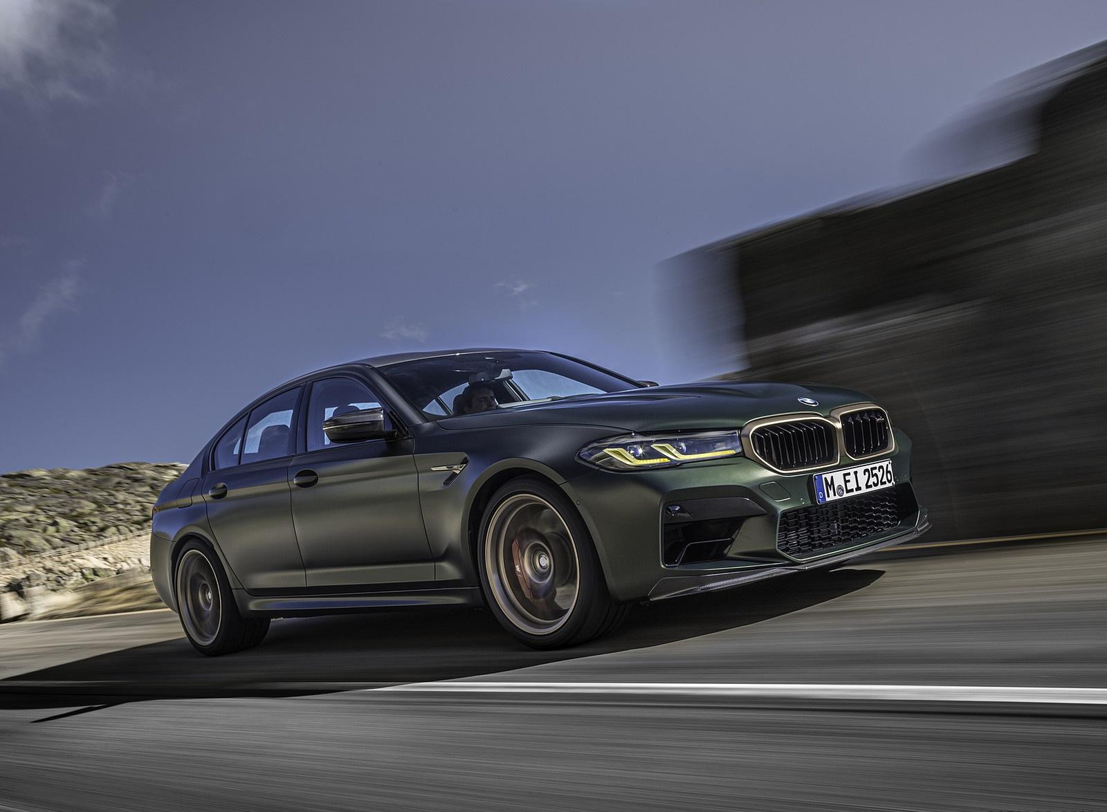 2022 BMW M5 CS Front Three-Quarter Wallpapers  (1)