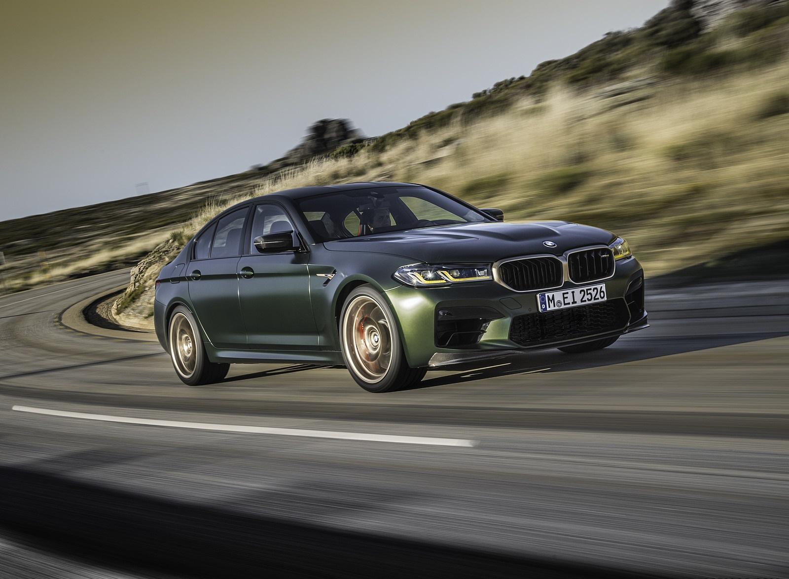 2022 BMW M5 CS Front Three-Quarter Wallpapers  (7)