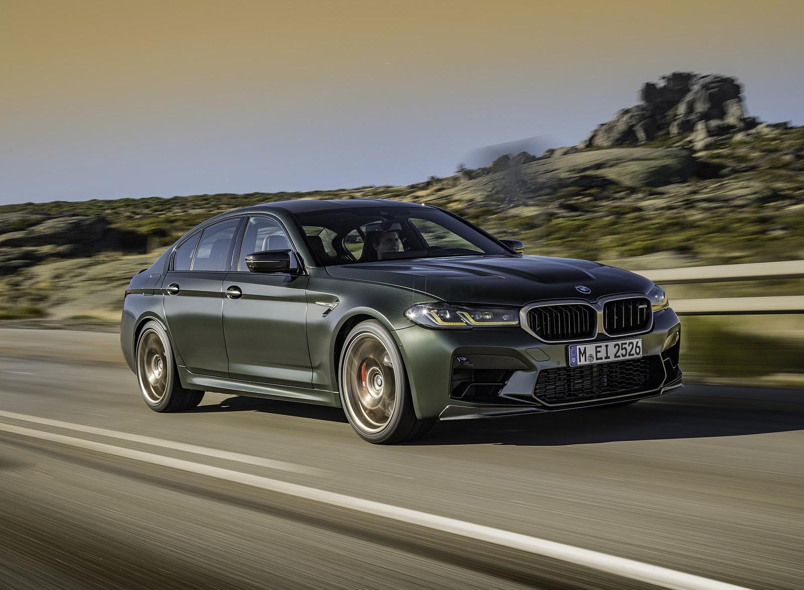 2022 BMW M5 CS Front Three-Quarter Wallpapers  (8)