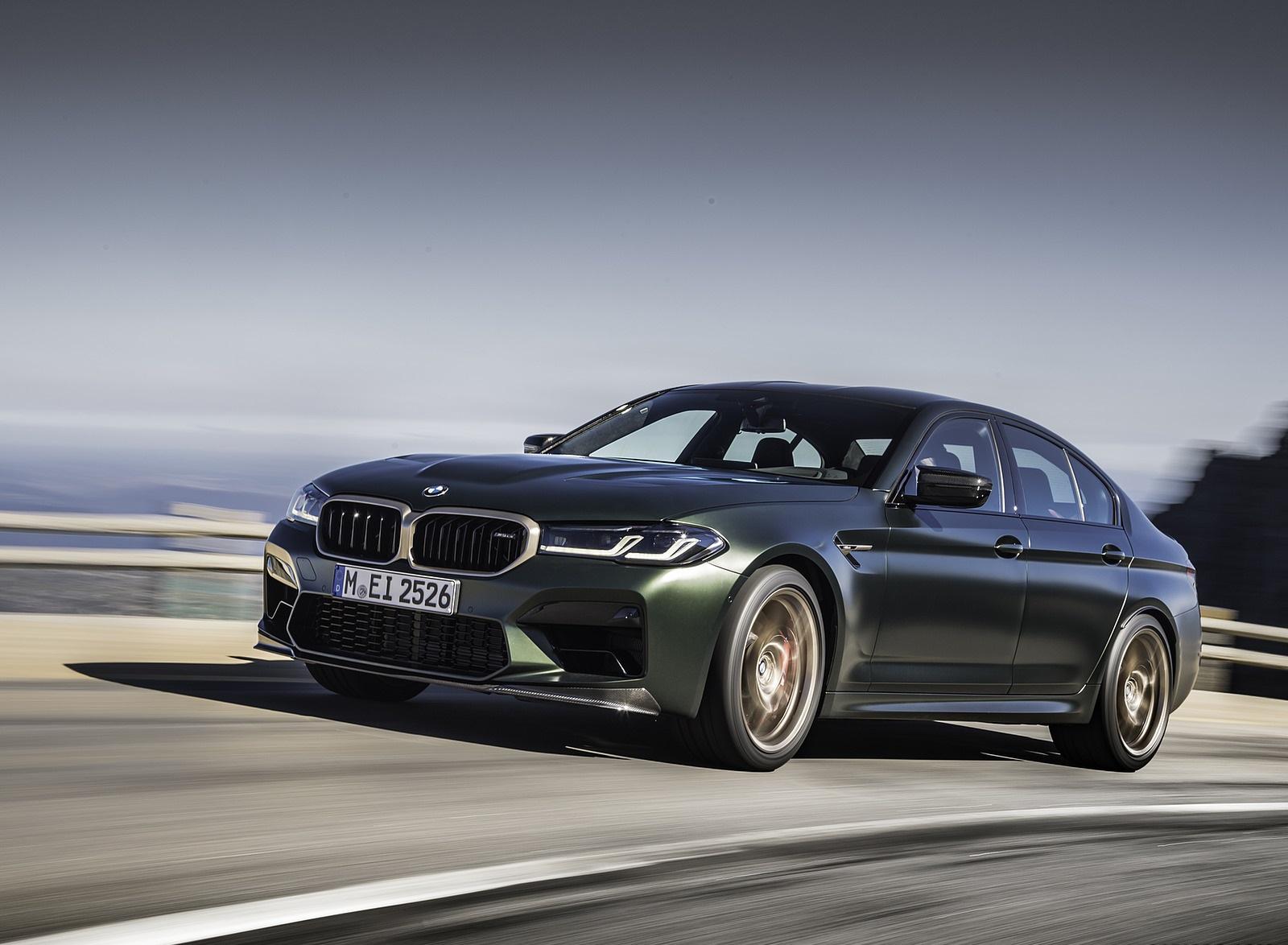 2022 BMW M5 CS Front Three-Quarter Wallpapers  (3)