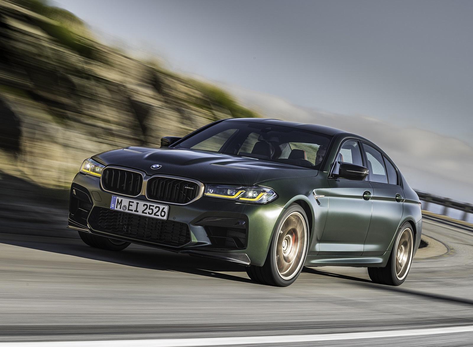 2022 BMW M5 CS Front Three-Quarter Wallpapers (9)