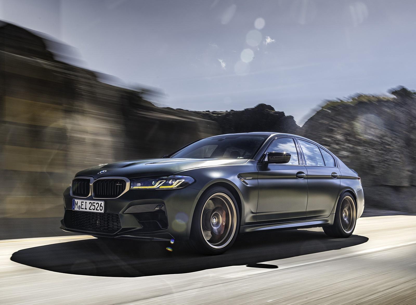 2022 BMW M5 CS Front Three-Quarter Wallpapers (4)