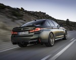 2022 BMW M5 CS Rear Three-Quarter Wallpapers 150x120 (5)